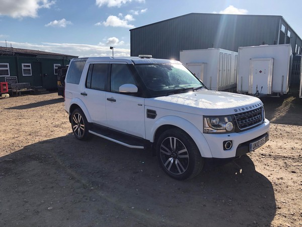 White Discovery 4 for sale