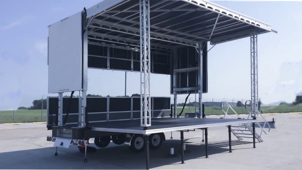 Secondhand trailer stage wanted