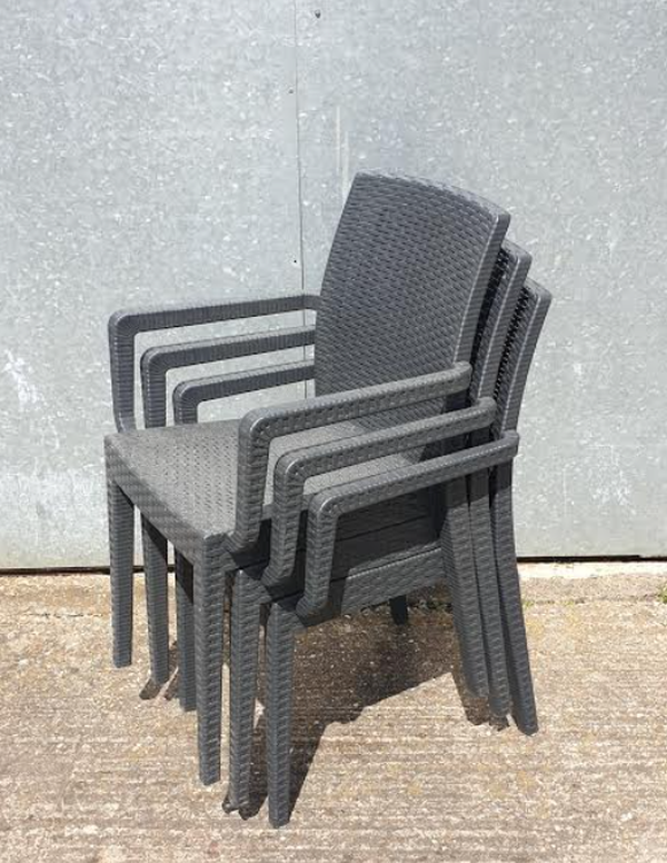 Secondhand armchairs