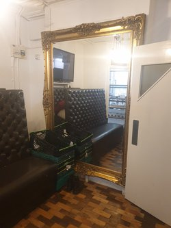 Large Gold Gilt Mirror