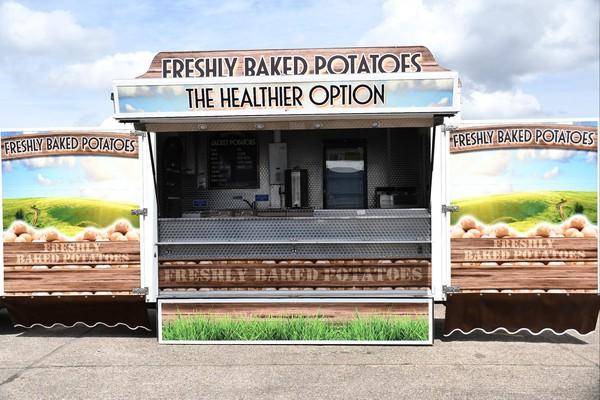 Baked Potato / burger  trailer for sale