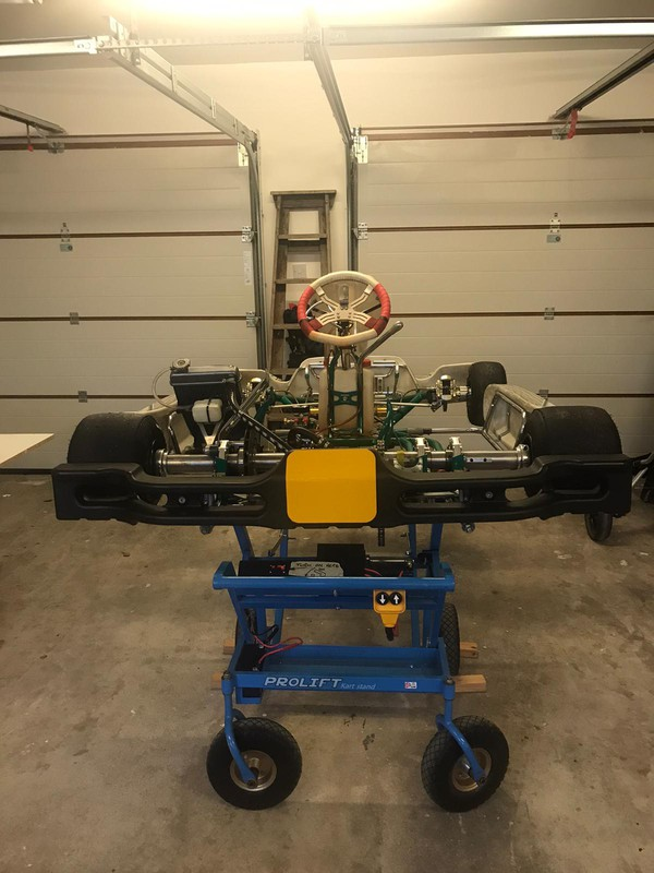 KZ Gearbox Tony Kart 401 Rolling chassis