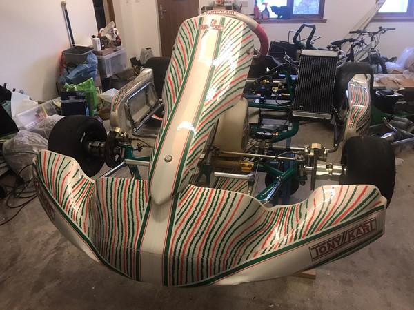 Tony Kart 401 with KZ Gearbox
