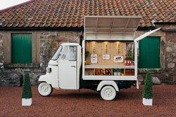 Piaggio Apé Mobile Bar For Sale