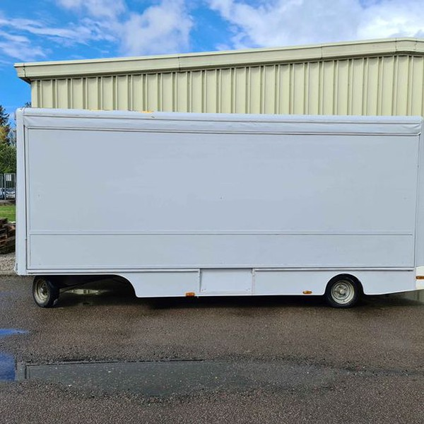 Secondhand show trailer for sale