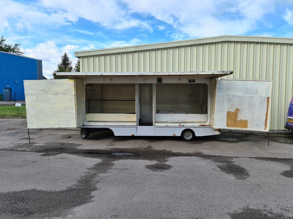 Exhibition trailer for sale