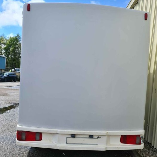 Secondhand exhibition trailer for sale