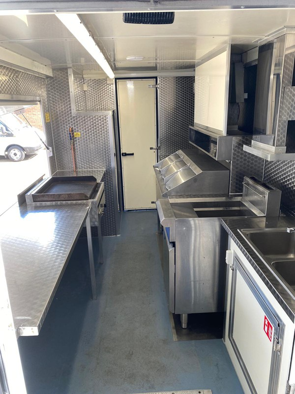 Fish and chip mobile shop