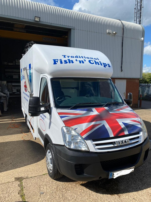 Fish and chip truck for sale