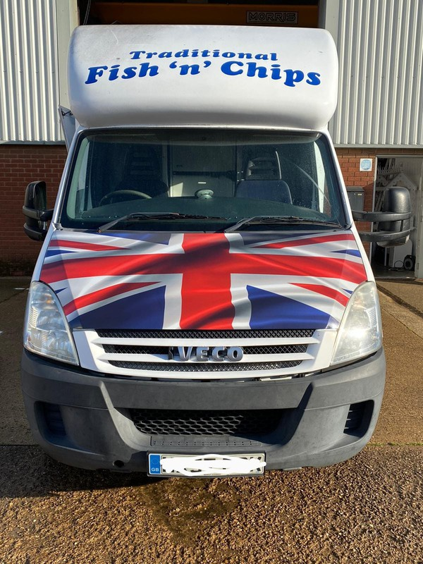 Iveco fish and chip van