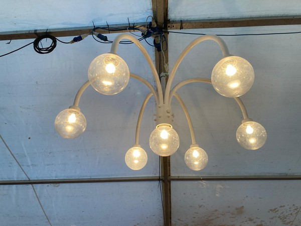 Marquee globe lights for sale