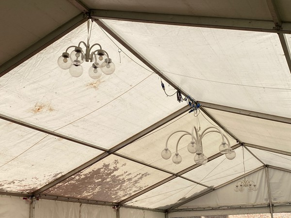 Marquee / tent lighting for sale