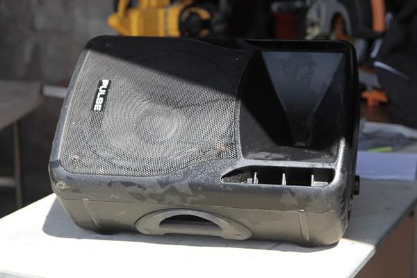 Passive monitor speaker