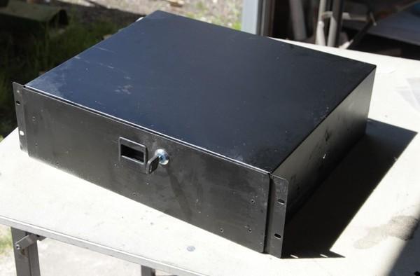 Steel cash drawer