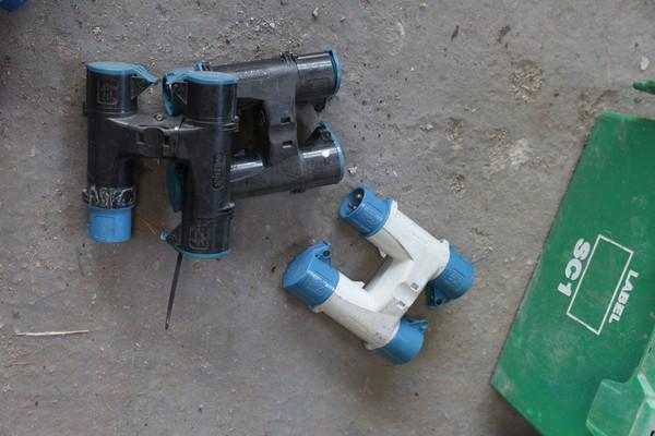 H Gun 3 way splitter