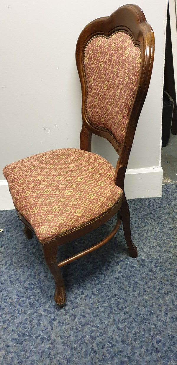 Traditional Italian dining chairs
