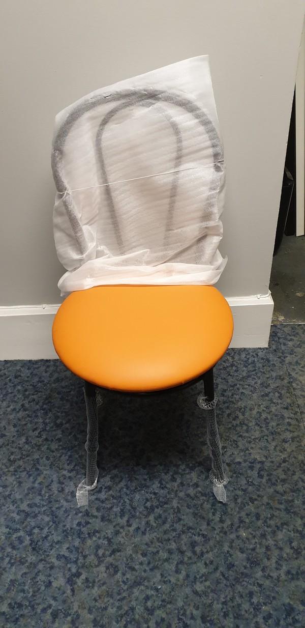 Orange Bistro Chairs