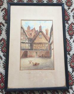 Original Painting by JA Parry 1926
