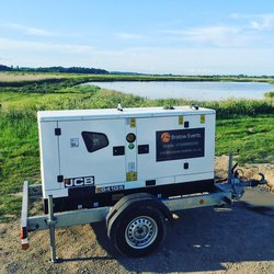35kva Road tow supper silenced generator for sale