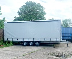 7m Tri Axle Curtain side trailer