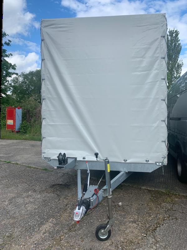 7m Curtain side car transport trailer for sale