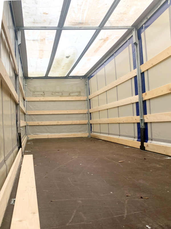Curtain side car transporter trailer for sale
