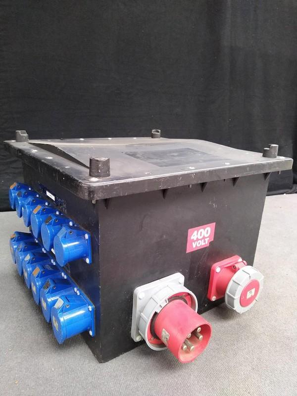 125 Amp 3 phase Distro