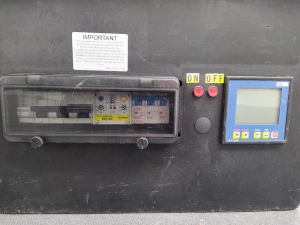 Used 125 Amp 3 phase Distro