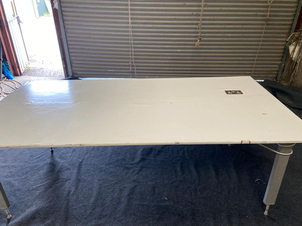 2x Large Work Bench / Table with 13amp & 16amp Sockets - Somerset 3