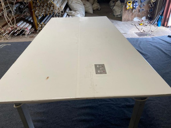 2x Large Work Bench / Table with 13amp & 16amp Sockets - Somerset 2
