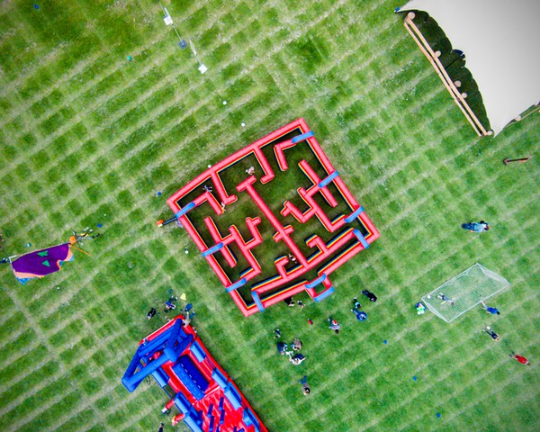 Large Inflatable Maze