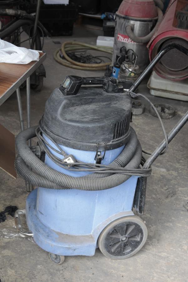 Industrial wet and dry Vac.