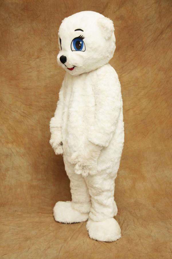 Female bear costume or mascot
