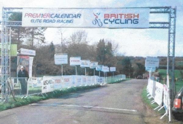 Race Start / Finish Gantry