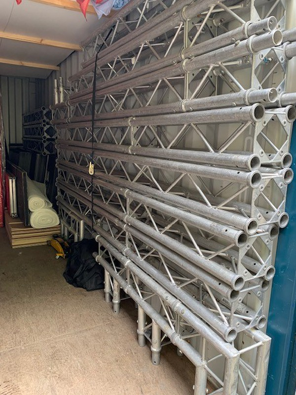 Used event start and finish Gantry