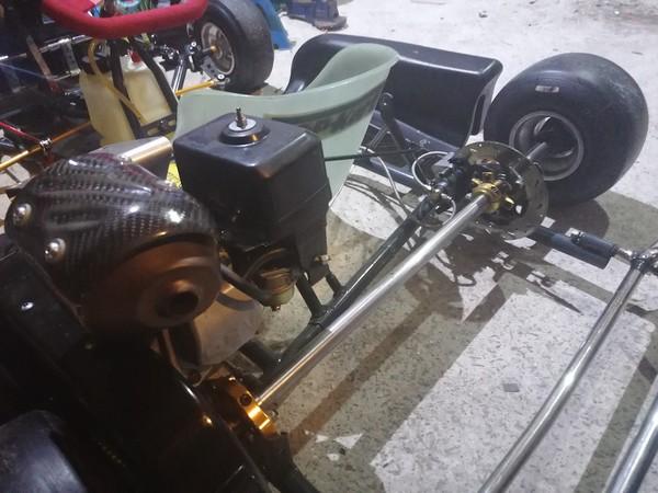 Buy Used Wright Cadet Kart with Honda GX160 Engine