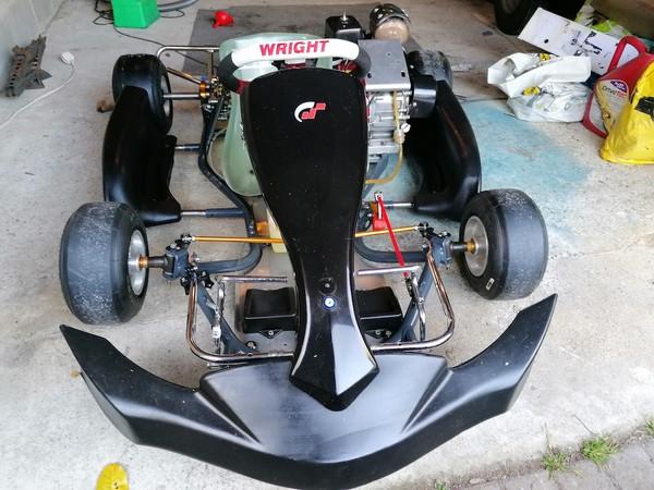 Used Wright Cadet Kart with Honda GX160 Engine