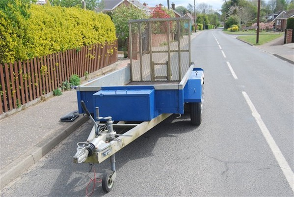 Used Indespension Challenger braked plant trailer for sale