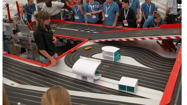 Scalextric Car Racing Attraction