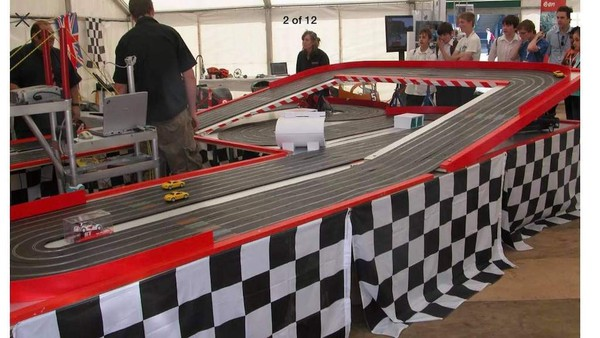 Giant Scalextric Attraction