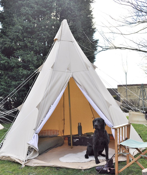 3m Canvas Bell Tent