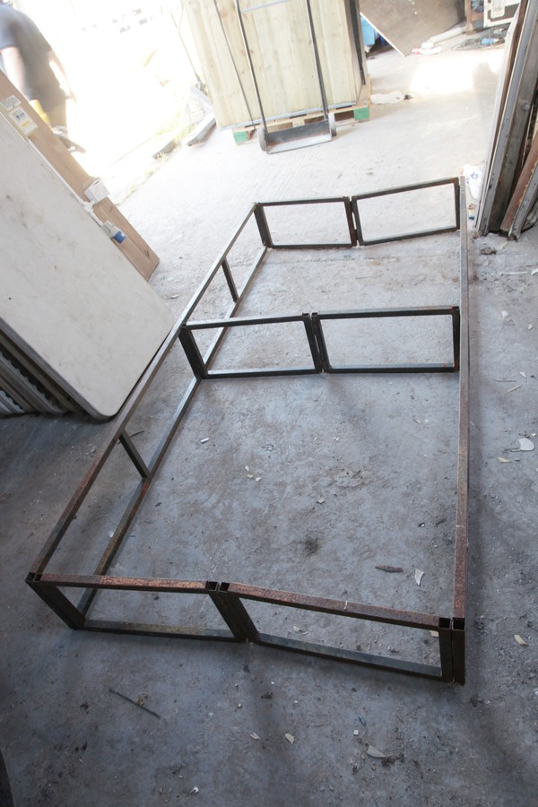 1Ft high folding stage