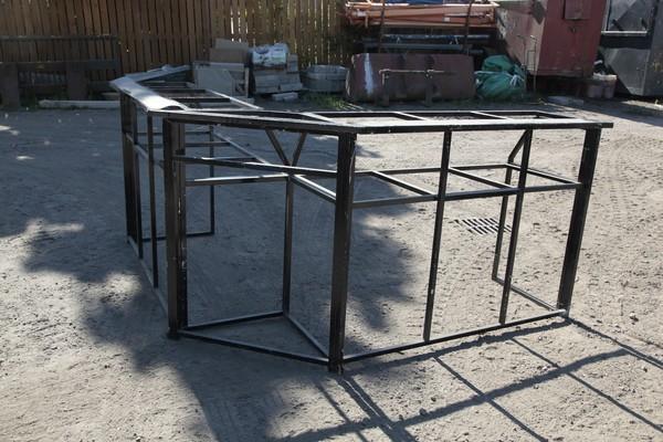 Corner for the folding bar
