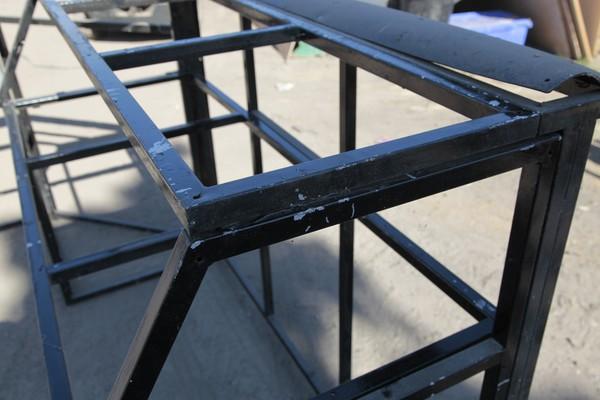 Portable folding bars