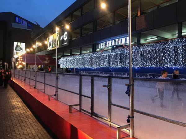 Ice rink festoon lights for sale