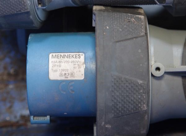 Mennekes 63A 6h / 200 - 250V Type 13202