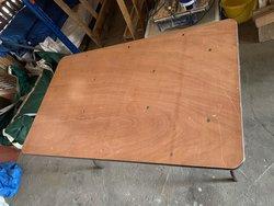 "4'x2'6"" Wooden Trestle Tables"