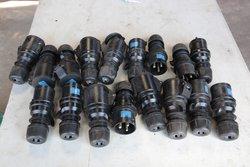 32A PCE 32A  220 - 250V 2P Type 023  Midnight Series Black Commando Socket