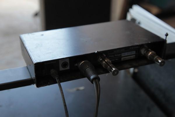 XS Sennheiser wireless microphone receiver
