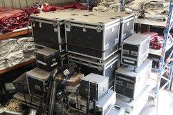 Job lot of flight cases for sale